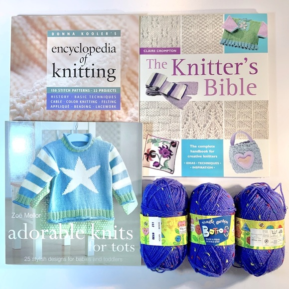 🔥REDUCED PRICE! GREAT DEAL!🔥 Knitting Bundle